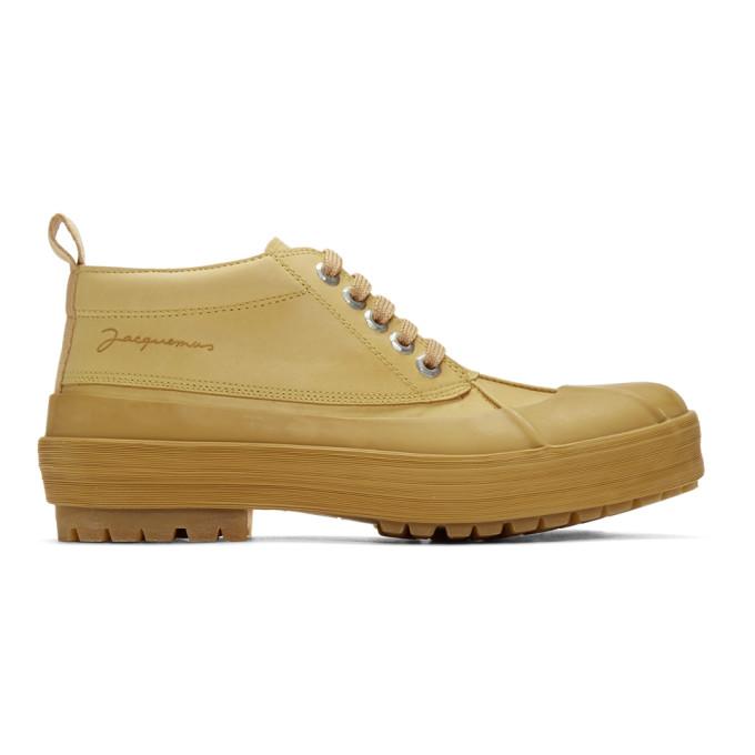 Jacquemus Tan Les Meuniers Boots