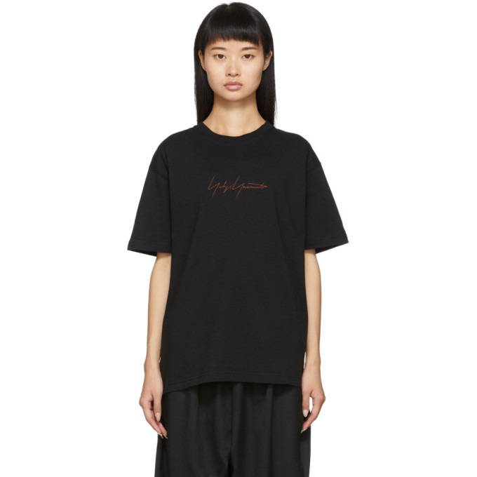 Yohji Yamamoto T-shirt a manches courtes noir edition New Era