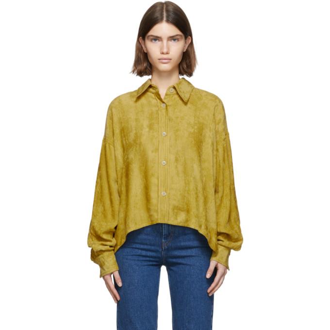 Isabel Marant Chemise jaune Fanao