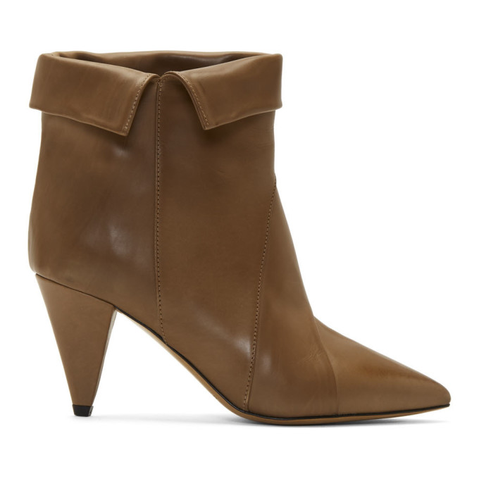 Isabel Marant Taupe Larel Boots