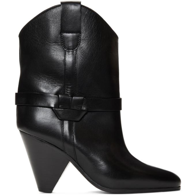 Isabel Marant Black Deane Boots