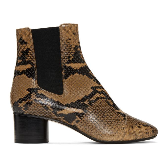 Isabel Marant Brown Danae Boots