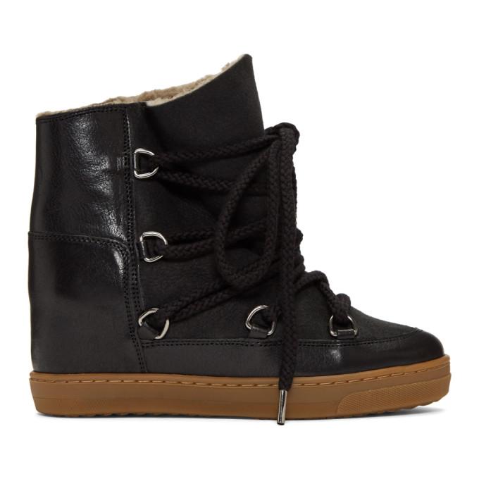 Isabel Marant Black Nowles Snow Boots