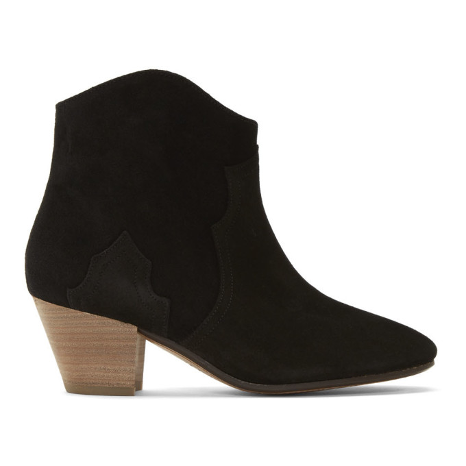 Isabel Marant Black Dicker Boot