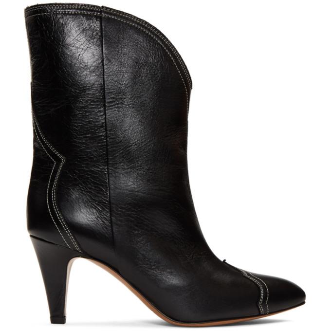 Isabel Marant Black Dythey Boots