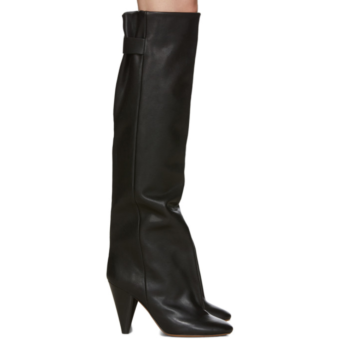Isabel Marant Black Lacine Boots