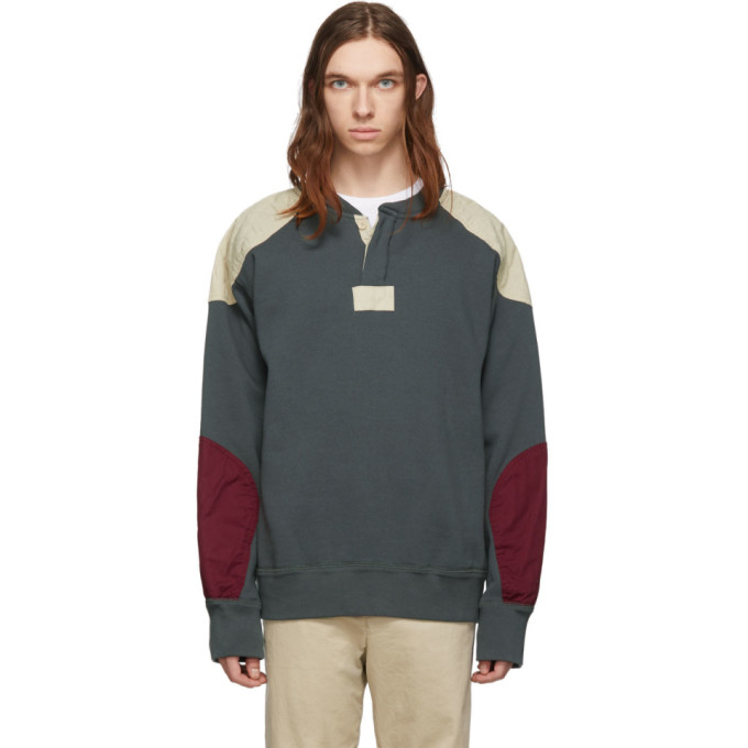 Isabel Marant Grey and Off-White Nash Sweatshirt