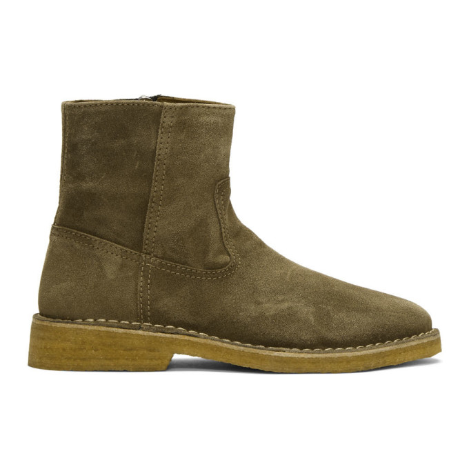 Isabel Marant Brown Cline Boots