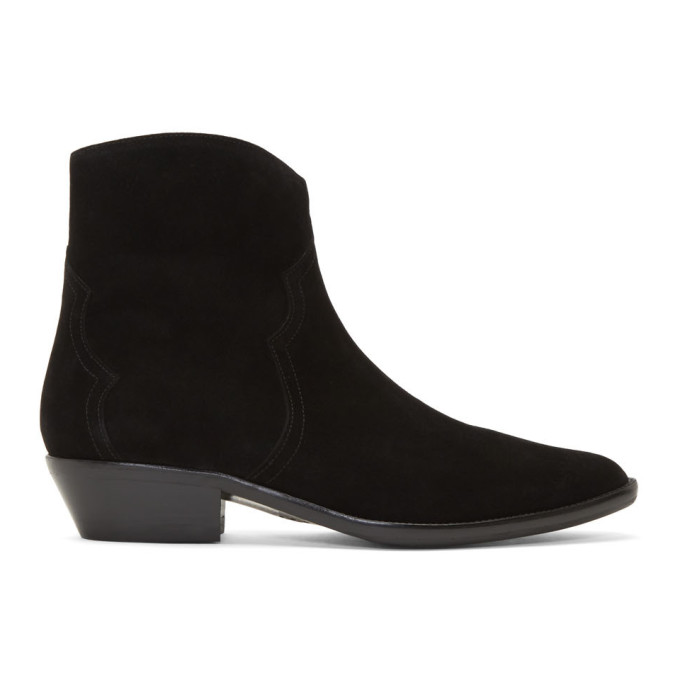 Isabel Marant Black Derfee Boots