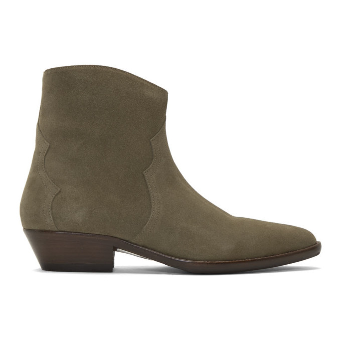 Isabel Marant Taupe Derfee Boots