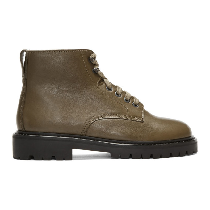 Isabel Marant Khaki Camp Boots