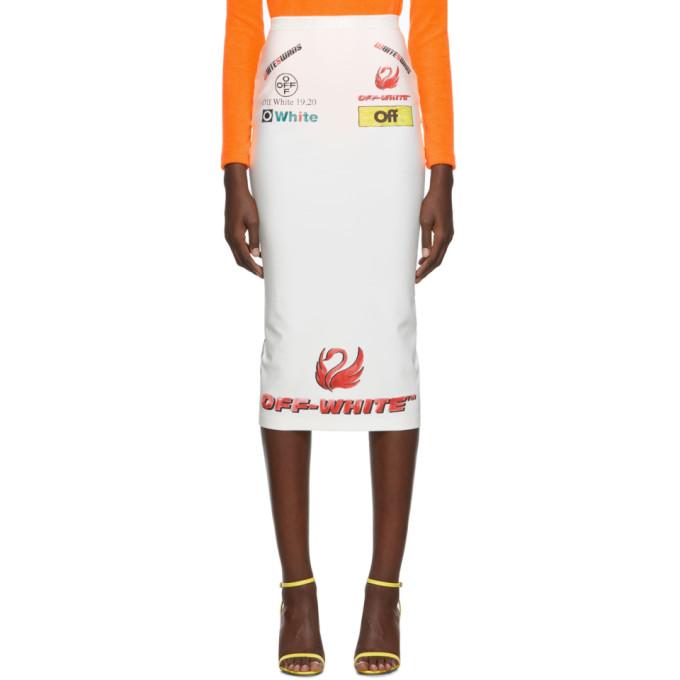 Off-White Off-White Multi-Logo Sporty Skirt