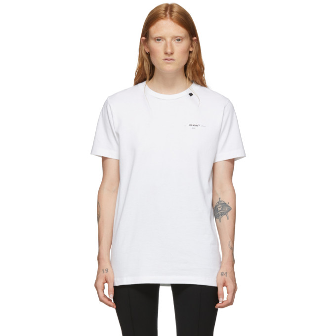 Off-White Chemise blanche Abstract Arrows