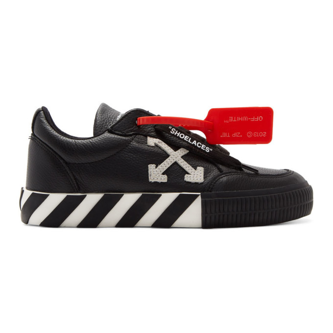 Off-White Black Arrow Low Vulcanized Sneakers