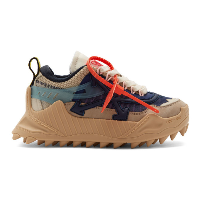 Off-White Navy Odsy Sneakers