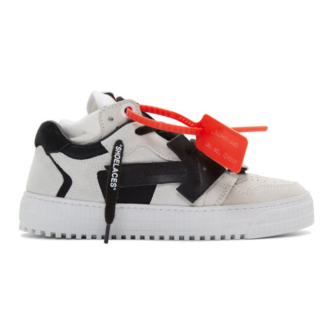 Off-White Grey 3.0 Low Sneakers