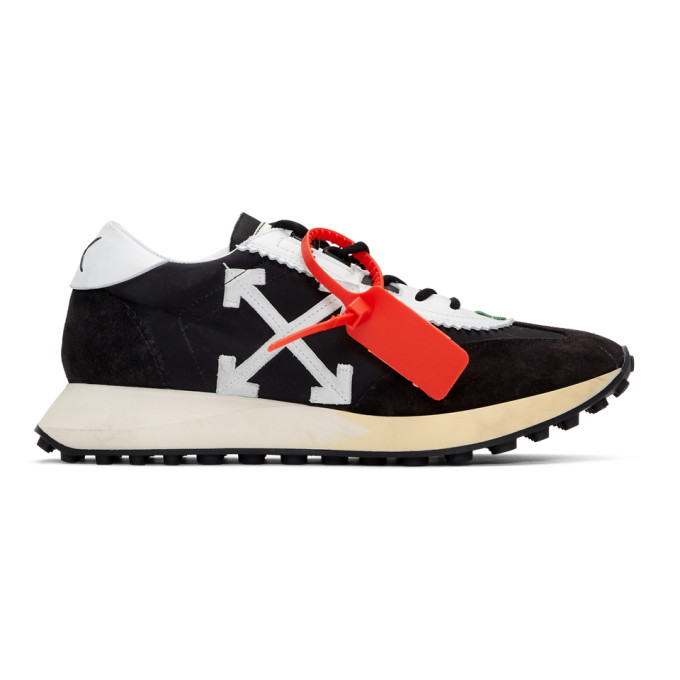 Off-White Baskets noires et blanches Running