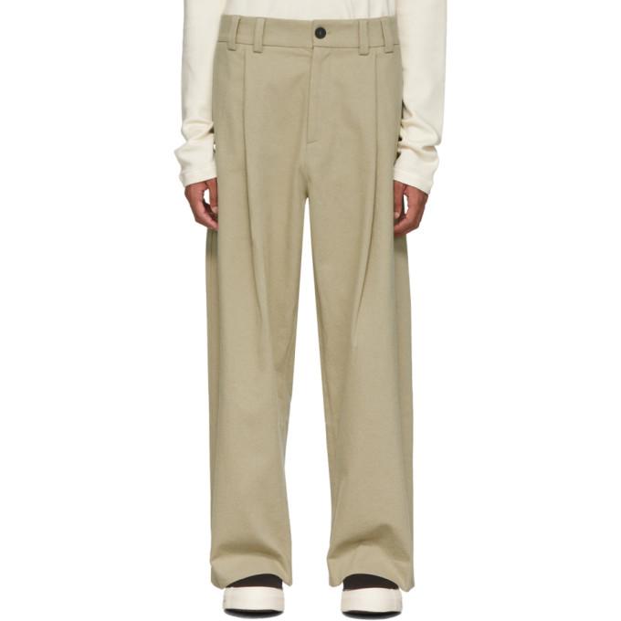 Studio Nicholson Pantalon beige Bushel