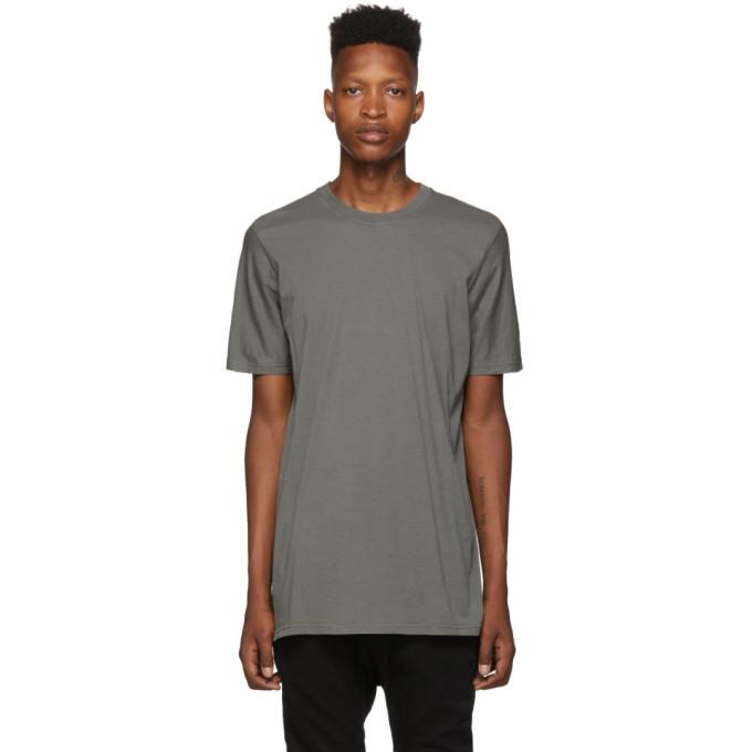 11 by Boris Bidjan Saberi Grey Lightweight T Shirt