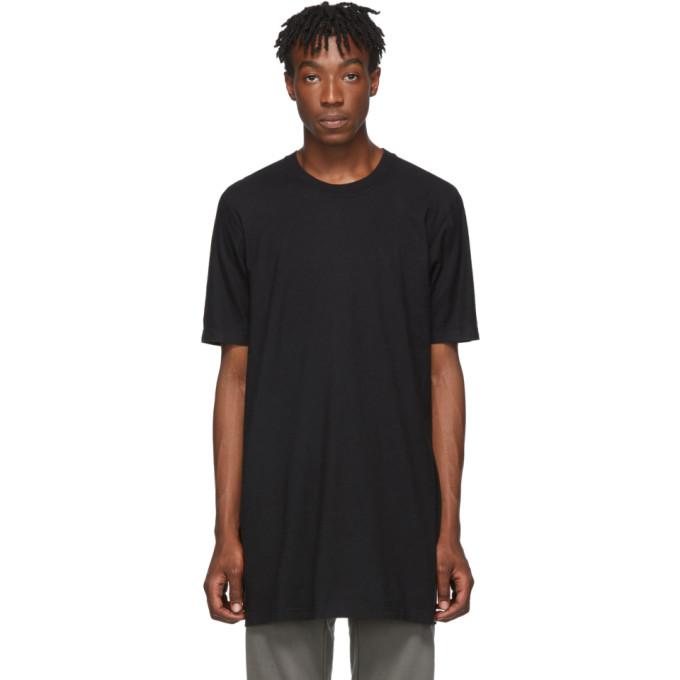 11 by Boris Bidjan Saberi T-shirt en coton noir