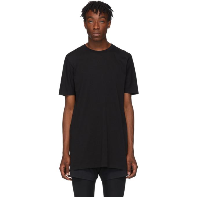 11 by Boris Bidjan Saberi T-shirt noir Block Dye
