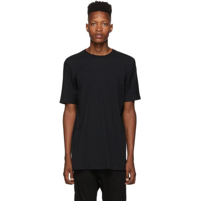 11 by Boris Bidjan Saberi T-shirt noir Nemini Parco