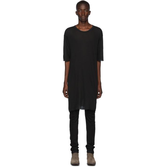 Boris Bidjan Saberi T-shirt noir Dyed