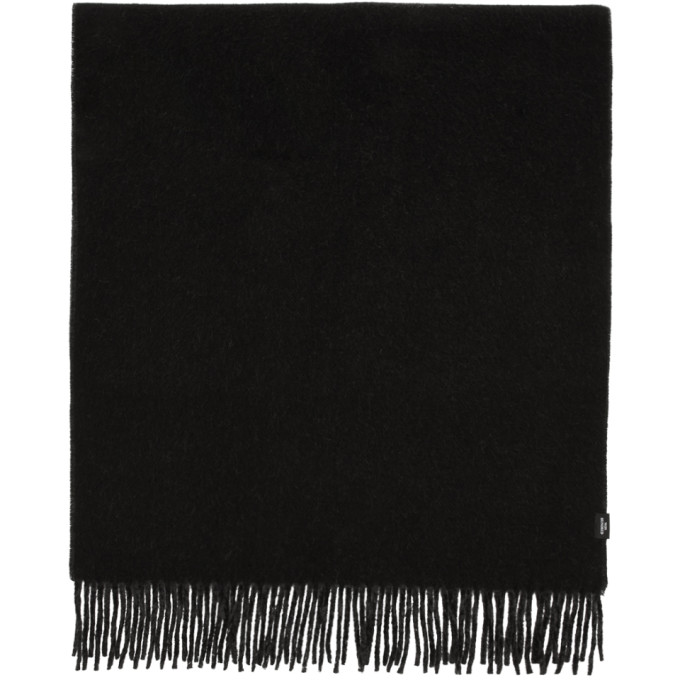 Won Hundred Foulard double-face noir Vanessa
