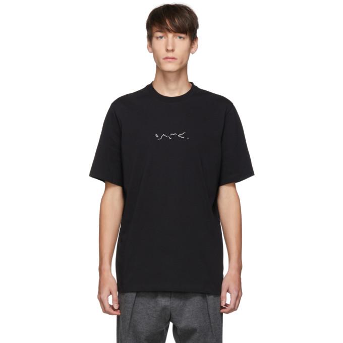 OAMC T-shirt noir Foulard