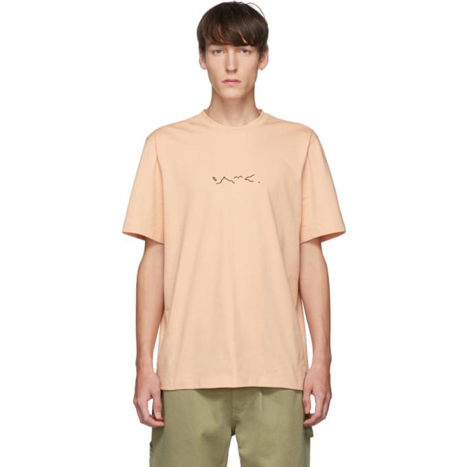 OAMC T-shirt rose Foulard