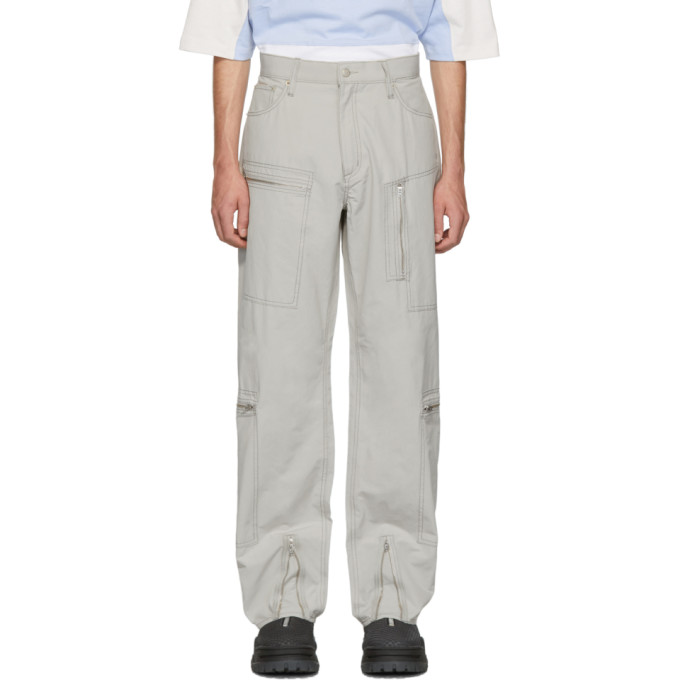 Eytys Pantalon gris Benz MK Tech