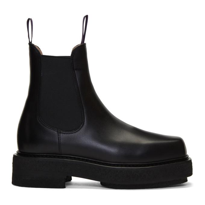 Eytys Black Ortega Chelsea Boots