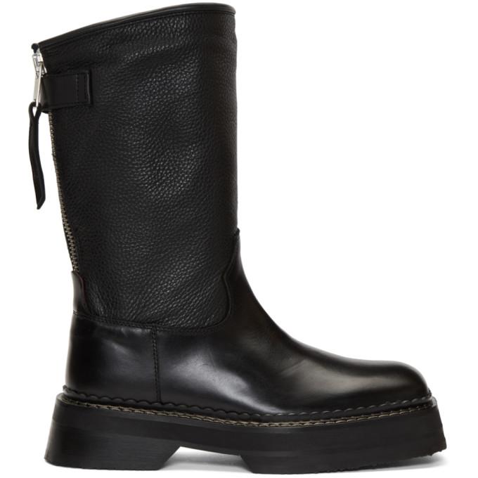 Eytys Black Tucson Boots