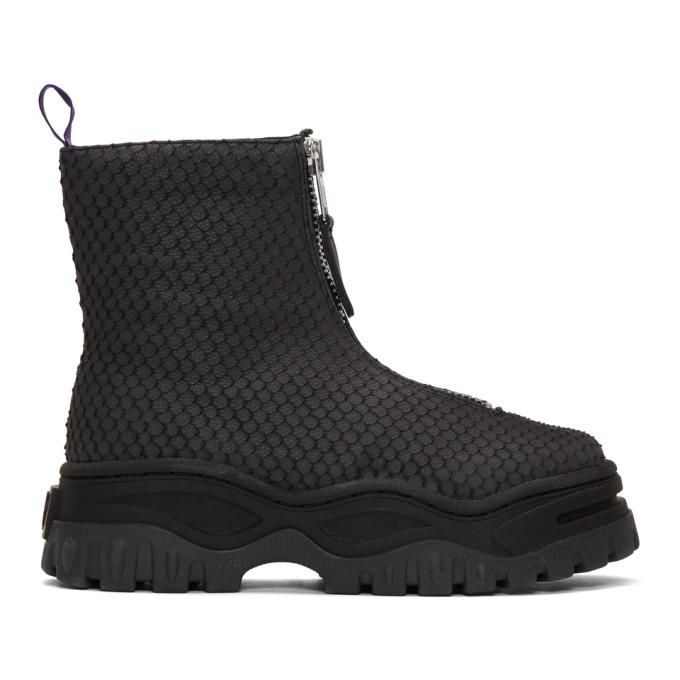 Eytys SSENSE Exclusive Grey Raven Tilapia Boots