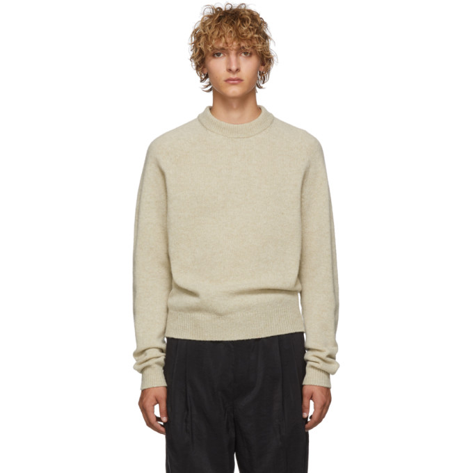Lemaire Off-White Crewneck Sweater