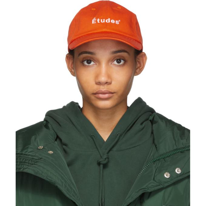 Etudes Casquette orange Booster Logo