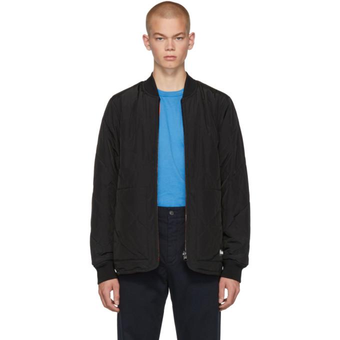 Etudes リバーシブル ブラック ライナー ジャケット