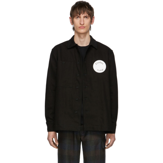 Etudes Studio Jackets ETUDES BLACK DENIM JOURNEY JACKET