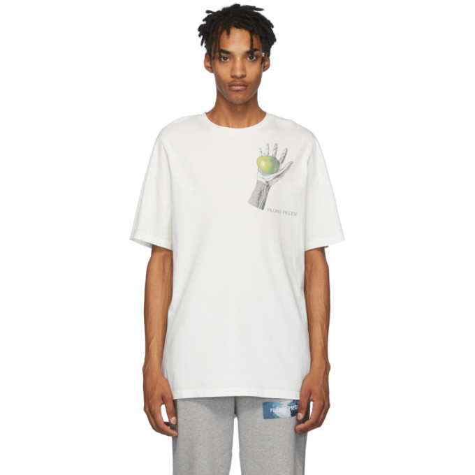 Filling Pieces T-shirt blanc Respect The Old
