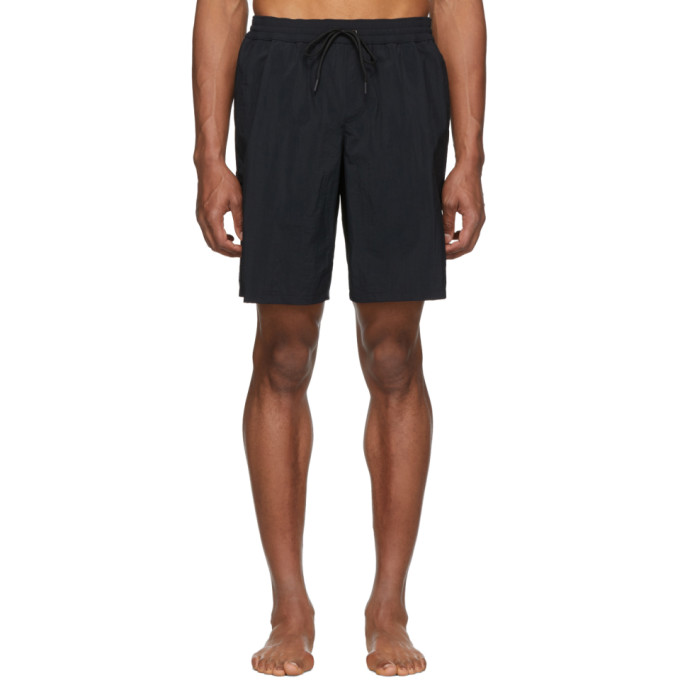 849da1f607 Versace Underwear Black Long Swim Shorts In A008 Black | ModeSens