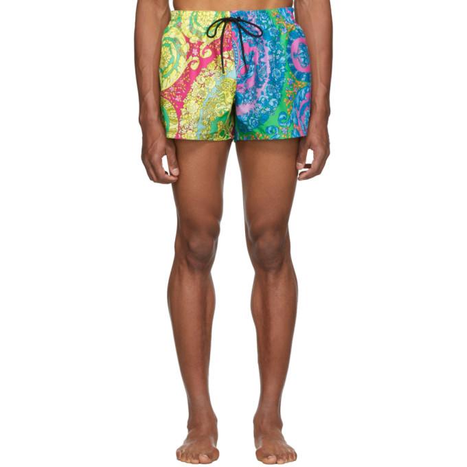 Versace Underwear Maillot de bain multicolore Barocco
