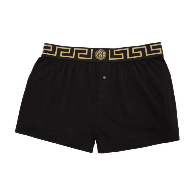 Versace Underwear Boxer noir Medusa