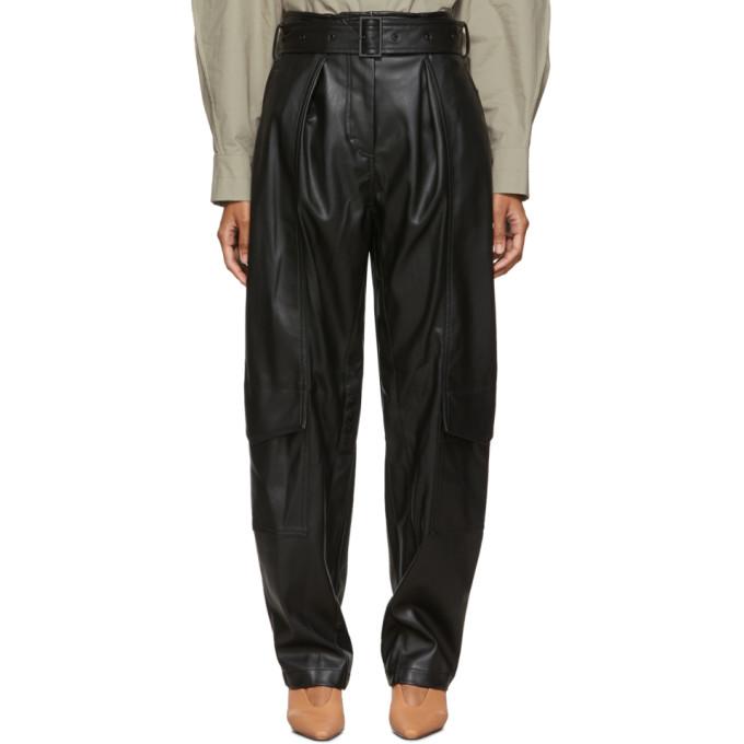 Low Classic Pantalon noir Down Pocket
