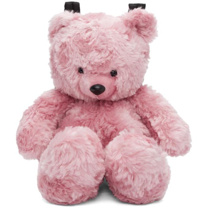 Vetements Backpacks PINK TEDDY BEAR BACKPACK