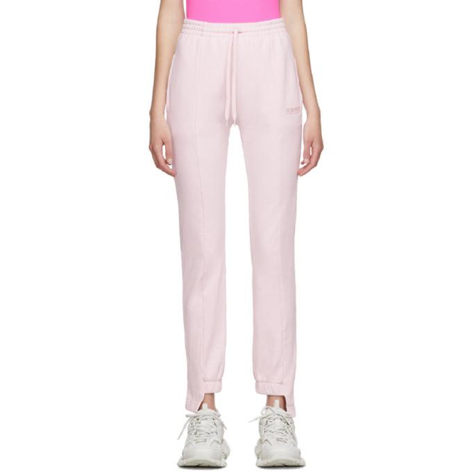 VETEMENTS | Vetements Pink Cut-Up Lounge Pants | Goxip