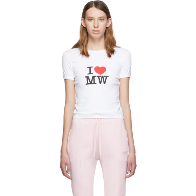 VETEMENTS | Vetements White Fitted T-Shirt | Goxip
