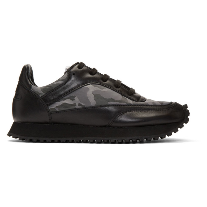 Comme des Garcons Comme des Garcons Black Spalwart Edition New Tempo Camo Sneakers