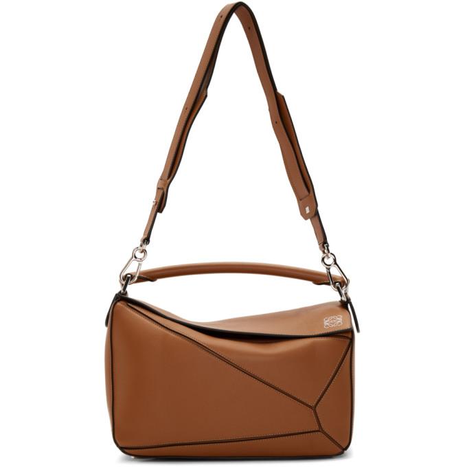 LOEWE | Loewe Tan Puzzle Bag | Goxip