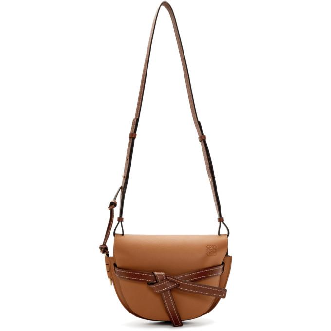 LOEWE | Loewe Tan Small Gate Bag | Goxip