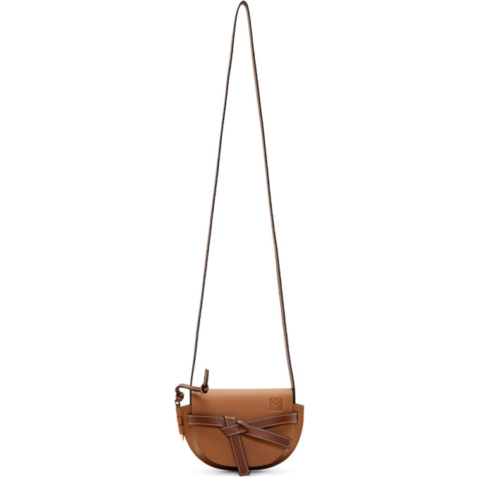 LOEWE | Loewe Tan Mini Gate Bag | Goxip
